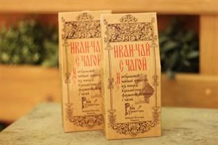 Чай ™  Русь Тресветлая  Иван-чай с чагой 100гр.