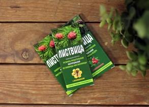 Смолка ™  Алтайский нектар  лиственничная  Листвица , с прополисом, блистер 0,8 гр №4