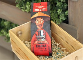 Кофе ™  Мистер Вьет молотый  Arabica  250 гр.