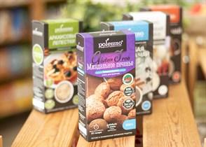 Смесь для выпечки  Миндальное печенье без глютена™  polezzno  320 гр.