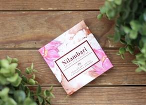 Шоколад ™  Nilambari  горький на сухофруктах с миндалем и изюмом,65 гр.