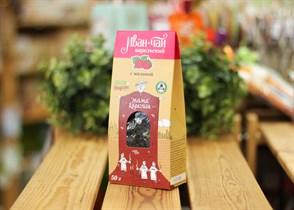 Иван-чай ™  Мама Карелия  с ягодами и листом малины 50 гр. КАРТОН