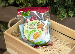 Конфеты ™  COBARDE el  Chocolate  мультизлаковые с миндалем  200 гр