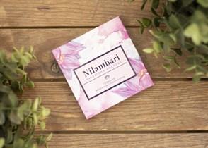 Шоколад ™  Nilambari  горький малина -спирулина, 65 гр