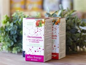 Растительные сиропы ™  Altay Energy  Фитотоник Стевия Woman с КРАСНОЙ ЩЁТКОЙ и авокадо 250 мл