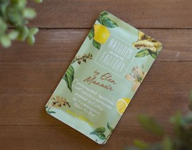 Гречишный шоколад ™  Nature's own factory  с имбирём и лимоном 20 гр