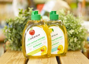 Мицеллярный бальзам для мытья посуды ™  Nativica   Защита кожи рук от сухости  400 мл.