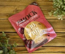 Печенье протеиновое DESSERT ™  Shoсk Fitnes  Cherry Chocolate  ( Вишня- шоколад) 35 гр