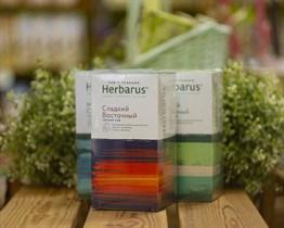 Чай чёрный с травами ™  Herbarus  Сладкий восточный в фильтр пакетах 24 шт *2г