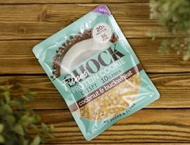 Печенье протеиновое CRIPSY ™  Shoсk Fitnes  Coconut Buckwheat ( Кокос- гречка) 30 гр