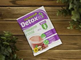 Кисель овсяно-льняной™  Компас Здоровья   detox bio NORM с топинамбуром и свёклой 25 гр