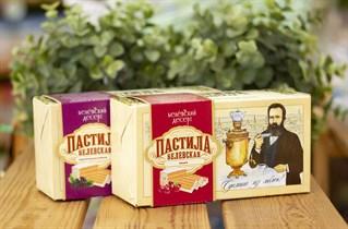 Пастила ™  Белевский десерт  с вишней (в коробке), 200 гр