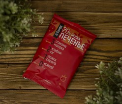 Печенье ™  Ё батон   20 % белка со вкусом КЛУБНИКИ в глазури 40 гр