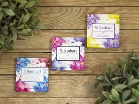 Шоколад ™  Nilambari  горький без сахара 92%, 65 гр.