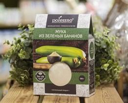 Мука ™  polezzno  из зелёных бананов 500 гр.