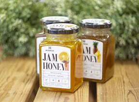 Джем на меду ™   Мусихин. Мир меда  Апельсин с куркумой 280 гр