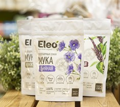 Мука ™  Eleo  семян льна, 150 гр