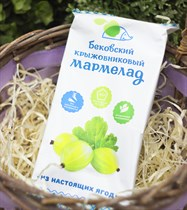 Мармелад бутербродный ™  Бековские сладости  КРЫЖОВНИКОВЫЙ ,260 гр.