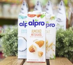 Напиток миндальный ™  ALPRO  БЕЗ САХАРА с кальцием и витаминами , 1 л