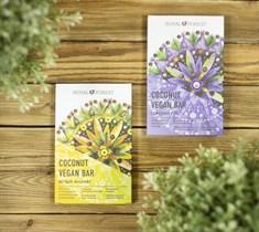 Шоколад ™  Royal Forest  КОКОСОВЫЙ Coconut Vegan Bar БЕЛЫЙ-АНАНАС 50 г.