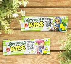 Фруктовый батончик ™  Фрутилад KIDS  c яблоком для детского питания, 25 гр