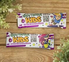 Фруктовый батончик ™  Фрутилад KIDS  c черникой для детского питания, 25 гр