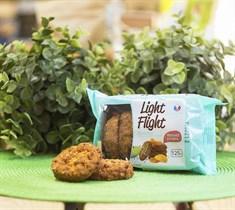 Печенье сдобное  ™  Light Flight  со злаками, яблоко-курага, 125 гр