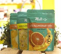 Чай ™  MUTE  Апельсиновый улун, 100 г