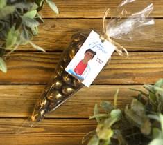 Драже ™ Зеленая Улица  Миндаль в молочной шоколадной глазури  Бронза  150 гр